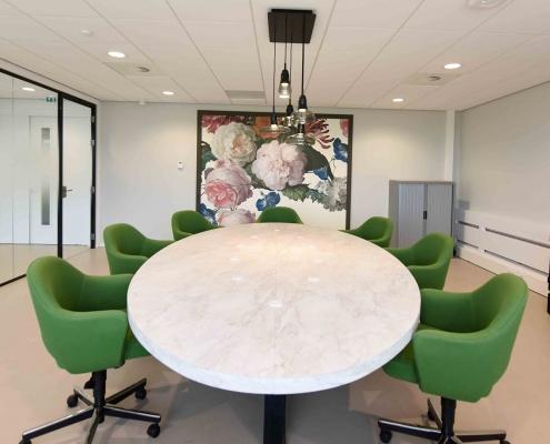 interieurontwerp KVK, inrichten kantoor, inrichten vergaderkamers