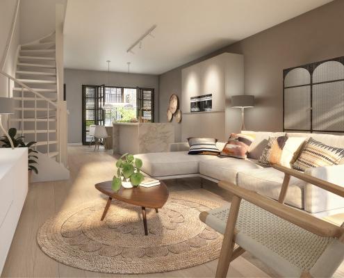 interieurontwerp nieuwbouwproject, turn key,