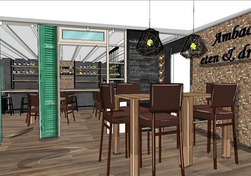 Interieurontwerp restaurant best eindhoven