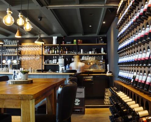 interieurontwerp lunchroom wijnbar cafe