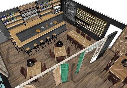 interieurontwerp restaurant inrichting