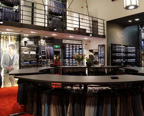 inrichten kledingwinkel retail eindhoven
