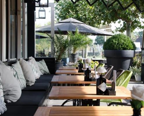 Restaurant terras inrichten eindhoven